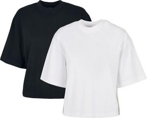 T-shirt Emp z bawełny z okrągłym dekoltem