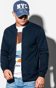 Granatowa bluza Ombre w młodzieżowym stylu