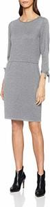 Sukienka amazon.de w stylu casual z okrągłym dekoltem z długim rękawem