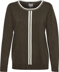 Brązowy sweter Culture w stylu casual
