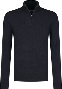 Czarny sweter Tommy Hilfiger z kaszmiru w stylu casual