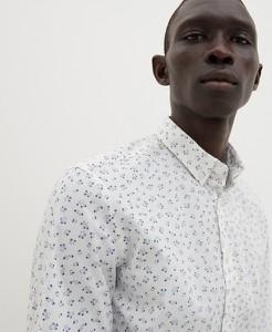 Koszula Reserved z klasycznym kołnierzykiem w stylu casual z długim rękawem