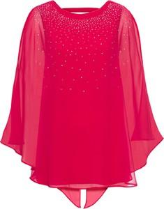 Bluzka bonprix bodyflirt boutique z długim rękawem bez wzorów