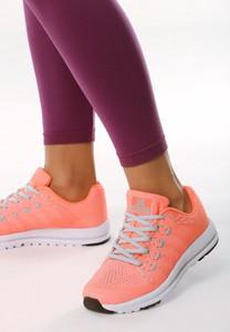 Różowe buty sportowe Multu z płaską podeszwą sznurowane