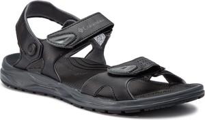 Czarne buty letnie męskie Columbia