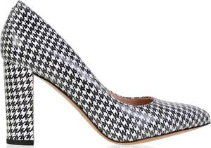 Czółenka lizard-shoes.com ze skóry ze spiczastym noskiem