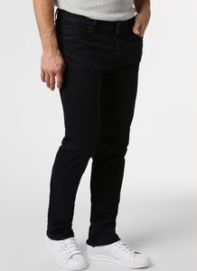 Czarne jeansy Alberto