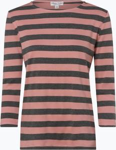 T-shirt Marie Lund z bawełny z długim rękawem