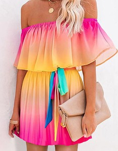 Sukienka Kendallme trapezowa w stylu casual mini