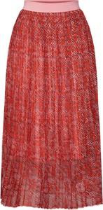 Czerwona spódnica Y.A.S midi w stylu casual