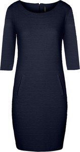Niebieska sukienka Freequent mini z długim rękawem