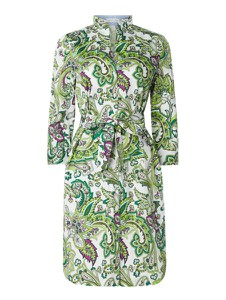 Sukienka Christian Berg Women z bawełny z długim rękawem w stylu casual