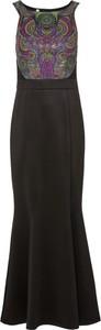 Czarna sukienka bonprix BODYFLIRT boutique dopasowana bez rękawów z okrągłym dekoltem