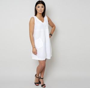Sukienka Willsoor mini z dekoltem w kształcie litery v