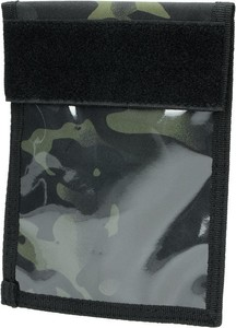 Czarna torba Mil-Tec ze skóry