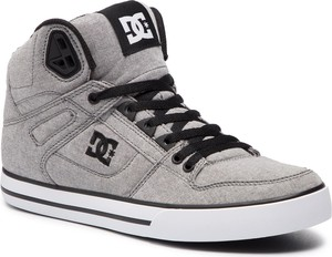 5fd83d5257cc9 DC Shoes Sneakersy DC - Pure High-Top Wc Tx Se ADYS400046 Grey (Gry
