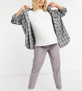 Fioletowe spodnie Asos