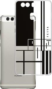 Etui amortyzujące uderzenia do Huawei P9, z unikatową grafiką 3D ferya LINE