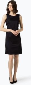 Granatowa sukienka Opus bez rękawów z okrągłym dekoltem