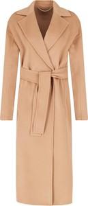 Pomarańczowy płaszcz Marella z kaszmiru