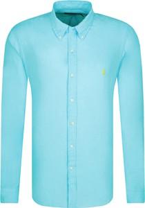 Koszula POLO RALPH LAUREN z lnu z długim rękawem w stylu casual