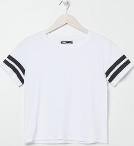T-shirt Sinsay z okrągłym dekoltem