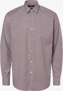 Koszula Hugo Boss z bawełny z klasycznym kołnierzykiem z długim rękawem