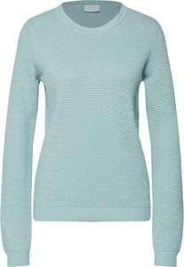 Niebieski sweter Vila z bawełny