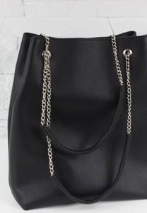 086a2d6174034 czarna pikowana torebka na łańcuszku - stylowo i modnie z Allani