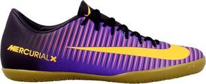 Buty sportowe Nike mercurial sznurowane w sportowym stylu