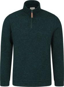 Zielona bluza Mountain Warehouse z polaru