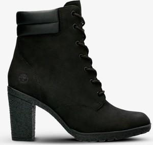 8027eb7a Czarne buty damskie na słupku Timberland, kolekcja lato 2019