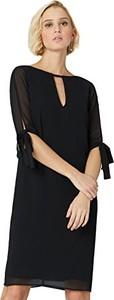 Czarna sukienka amazon.de prosta