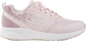 Różowe buty sportowe Sprandi z płaską podeszwą