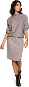 Sukienka MOE w stylu casual midi