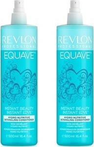 Revlon Equave Hydro Nutritive Conditioner | Dwufazowa odżywka nawilżająca do włosów w sprayu 2X 500ml - Wysyłka w 24H!