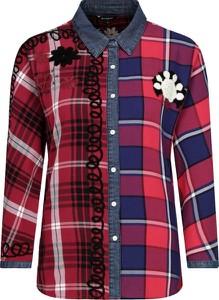 Koszula Desigual z długim rękawem w stylu casual z kołnierzykiem