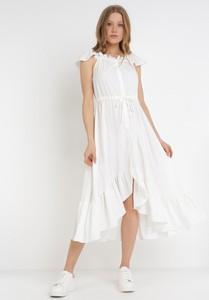 Sukienka born2be asymetryczna bez rękawów