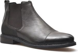 Czarne buty zimowe Ryłko