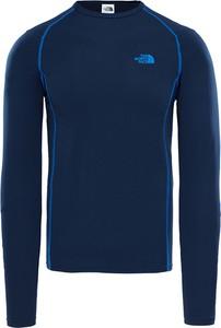Niebieska koszulka z długim rękawem The North Face