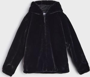 Czarna kurtka dziecięca Sinsay dla dziewczynek
