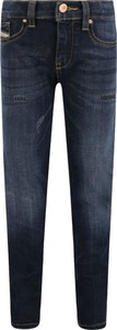 Granatowe jeansy dziecięce Diesel