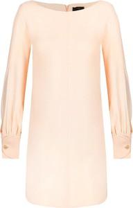 Sukienka Elisabetta Franchi z długim rękawem prosta