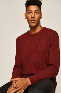 Czerwony sweter Medicine z dzianiny