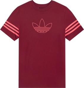 Czerwona koszulka dziecięca Adidas