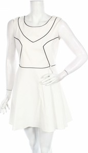 Sukienka Why Not z okrągłym dekoltem mini bez rękawów