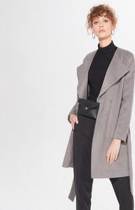 Płaszcz Mohito z wełny w stylu casual