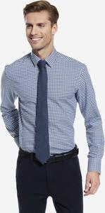 Koszula Wólczanka z długim rękawem w stylu casual z tkaniny