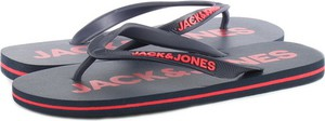 Granatowe buty letnie męskie Jack & Jones