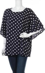 Bluzka Bobeau z długim rękawem w stylu casual z okrągłym dekoltem